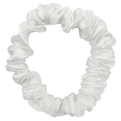 Xuxinha de Cetim Slim Branca - Turban