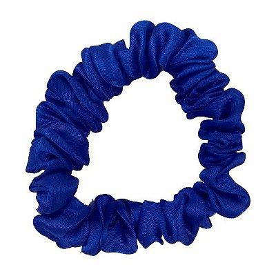 Xuxinha de Cetim Slim Azul Royal - Turban