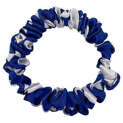 Xuxinha de Cetim Slim Estrela Azul Maravilha - Turban