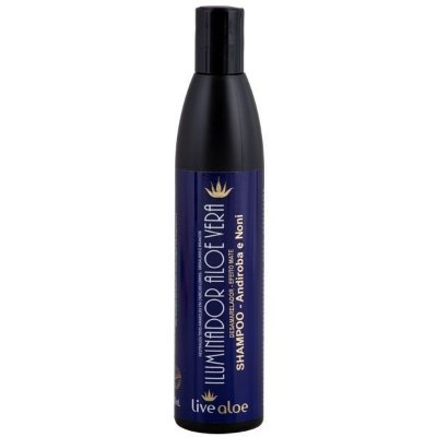 Shampoo Iluminador Aloe Vera Desamarelador Livealoe - 300ml