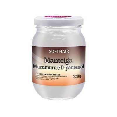 Manteiga de Murumuru e D-Pantenol 220g - Soft Hair