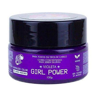 Máscara Pigm. Maíra Medeiros Violeta Girl Power 100g - Kamaleão Color