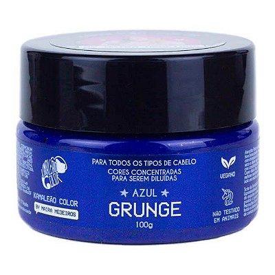 Máscara Pigm. Maíra Medeiros Azul Grunge 100g - Kamaleão Color