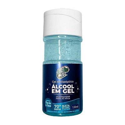 Álcool em Gel 70% - Mamae & Bebe 150ml - Kamaleão Color