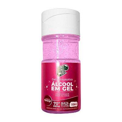 Álcool em Gel 70% - Morango 150ml - Kamaleão Color
