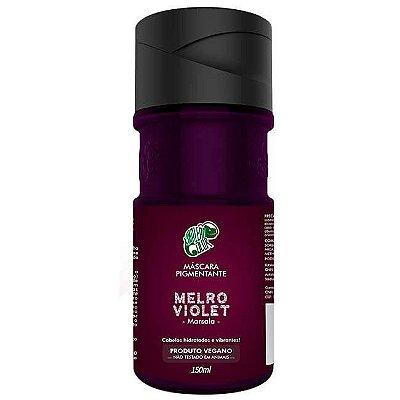 Máscara Pigmentante Melro Violet 150ml - Kamaleão Color