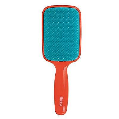 Escova Raquete Flex Vermelha - Ricca