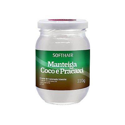 Manteiga de Coco e Pracaxi - 220g - SoftHair