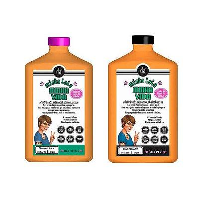 COMBO Minha LOLA Minha Vida - Shampoo 500ml + Condicionador 500g - Lola Cosmetics