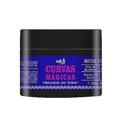 Curvas Mágicas - Máscara de Tratamento para Cabelos Cacheados 300g - Widi Care