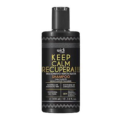 Keep Calm Recupera!!! - Shampoo 300ml - Widi Care