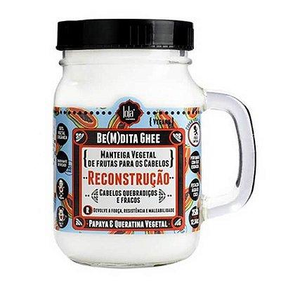BE(M)DITA GHEE - RECONSTRUÇÃO PAPAYA E QUERATINA VEGETAL 350g - Lola Cosmetics