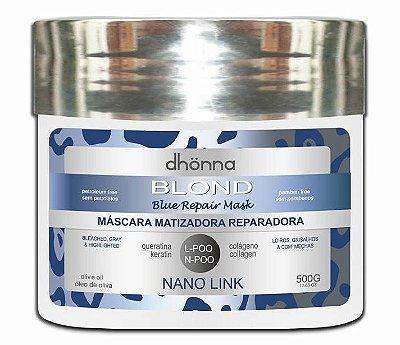 Dhonna - Máscara Matizadora Blond Blue Repair - 500g