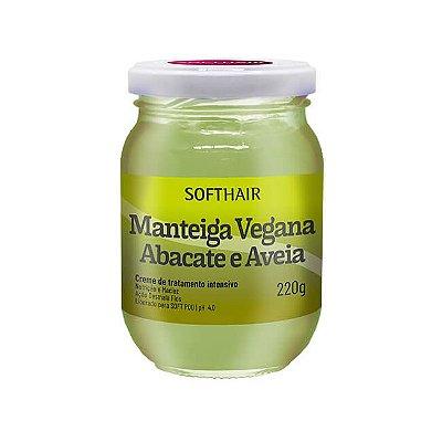 Manteiga Vegana Abacate e Aveia - 220g - SoftHair