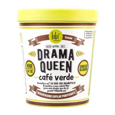 Drama Queen Café Verde (CABELOS OLEOSOS) - 450g - Lola Cosmetics