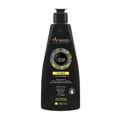 Co-Wash Com Anfótero Cachos Naturais Arvensis - 300ml