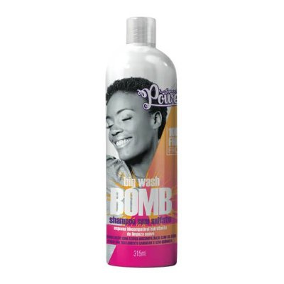 Shampoo Big Wash Bomb 315ml - Soul Power