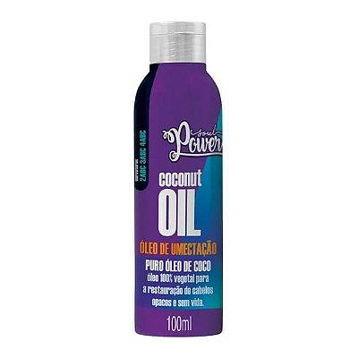 Óleo de Umectação Coconut Oil 100ml - Soul Power