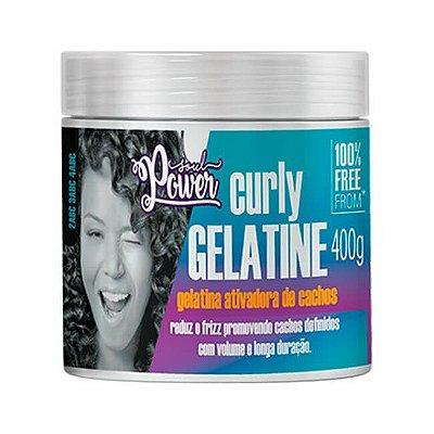 Curly Gelatine 400g - Soul Power