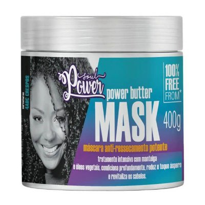 Máscara Power Butter Mask 400g - Soul Power