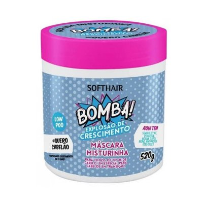 Máscara Misturinha Bomba! Explosão de Crescimento - Soft Hair - 520g