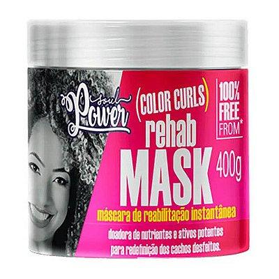 Máscara Rehab Mask Color Curls 400g - Soul Power