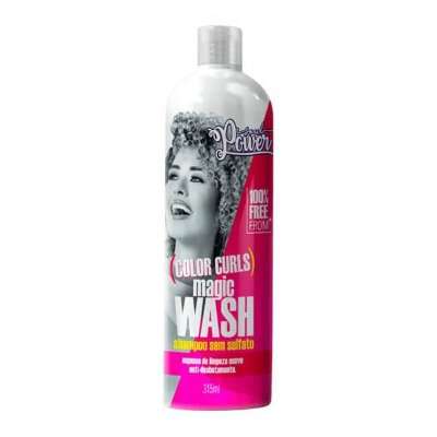 Shampoo Magic Wash Color Curls 315ml - Soul Power