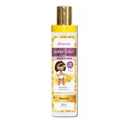 Gel e Creme Infantil Super Curly 300ml - Dhonna