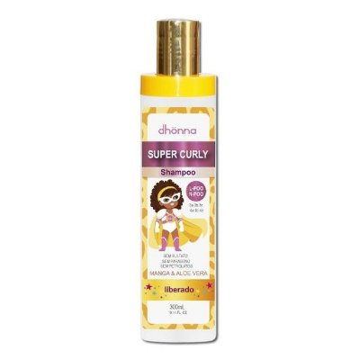 Shampoo Infantil Super Curly 300ml - Dhonna