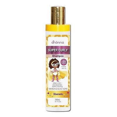 Shampoo Infantil Super Curly 300ml - Dhonna