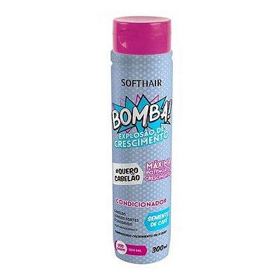 Condicionador Bomba! Explosão de Crescimento - Soft Hair - 300ml
