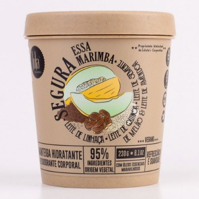 Manteiga Hidratante Segura Essa Marimba - Refrescância e Suavidade 230g - Lola Cosmetics