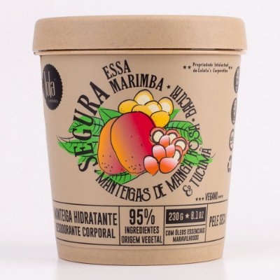 Manteiga Hidratante Segura Essa Marimba - Pele Seca 230g - Lola Cosmetics