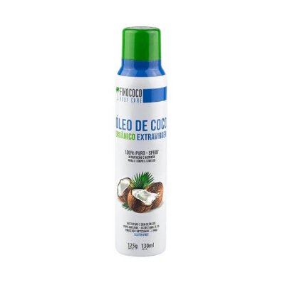Óleo de Coco Orgânico Extravirgem BodyCare Spray 125g - Finococo