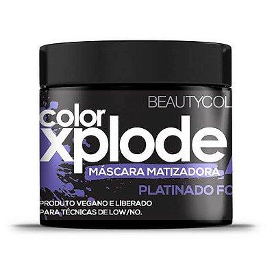 Máscara Matizadora Color Xplode Platinado Focus 300g - Beauty Color