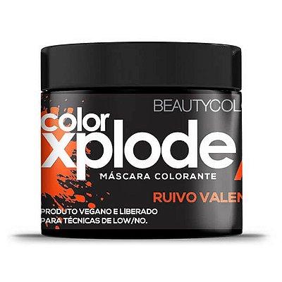 Máscara Colorante Color Xplode Ruivo Valente 300g - Beauty Color