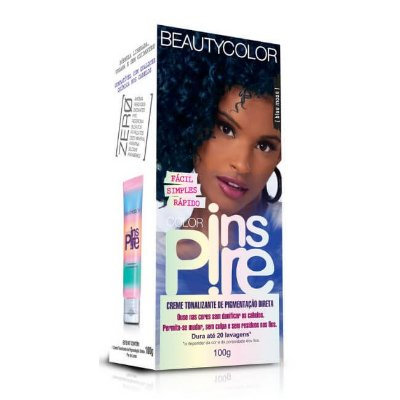 Creme Tonalizante Inspire Blue Moon 100g - Beauty Color