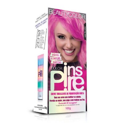 Creme Tonalizante Inspire Sink The Pink 100g - Beauty Color