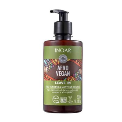 Leave-In Afro Vegan 300ml - Inoar