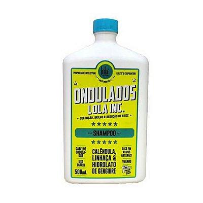Ondulados Lola Inc Shampoo 500ml - Lola Cosmetics