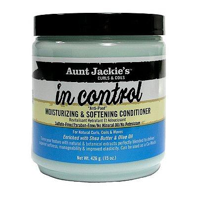 """In Control Condicionador """"Anti-Poof"""" 426g - Aunt Jackie's"""