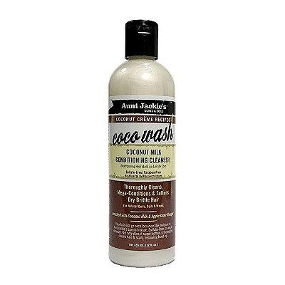 Coco Wash Higienizador Condicionante 355ml - Aunt Jackie's