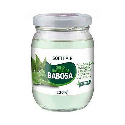 Sumo Natural de Babosa 220ml - Soft Hair