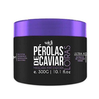Máscara Matizadora Pérolas de Caviar Loiras  300g - Widi Care