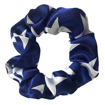 Xuxinha de Cetim Estrela Azul Maravilha - Turban