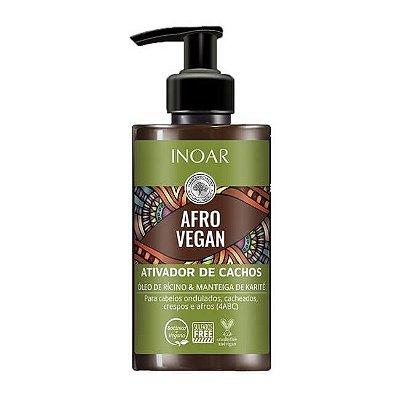 Ativador de Cachos Afro Vegan 300ml - Inoar
