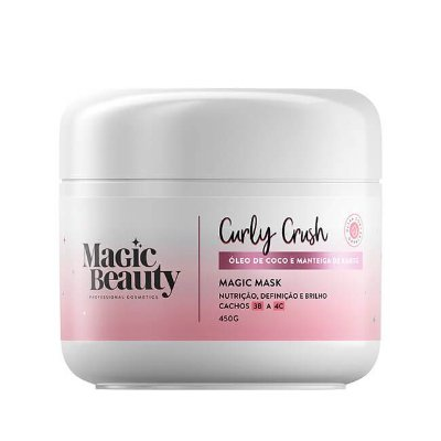 Máscara Magic Mask Curly Crush 3B a 4C - Magic Beauty