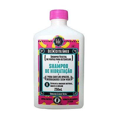 SHAMPOO BE(M)DITA GHEE HIDRATAÇÃO BANANA 250mL - Lola Cosmetics