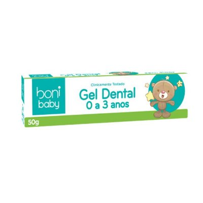Gel Dental Sem Fluor Baby 50g - Boni Natural