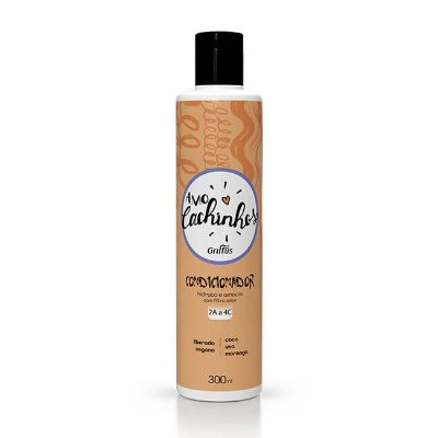 Condicionador Amo Cachinhos 300mL - Griffus